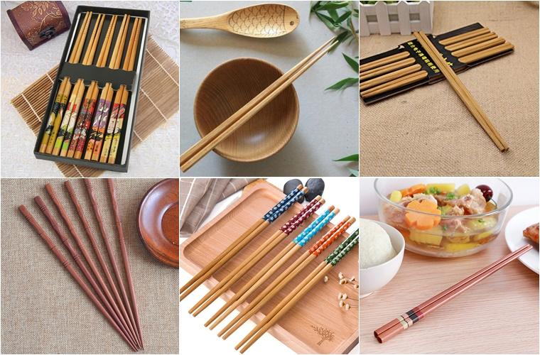 Nên chọn mua đũa tre, đũa nhựa hay đũa inox?