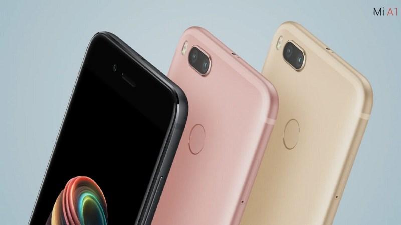 Xiaomi ra mắt Mi A1: Thiết kế như iPhone 7 Plus, camera kép 12MP xóa phông