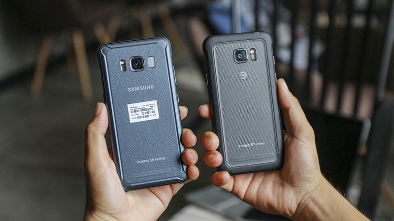 Trên tay Galaxy S8 Active tại Việt Nam