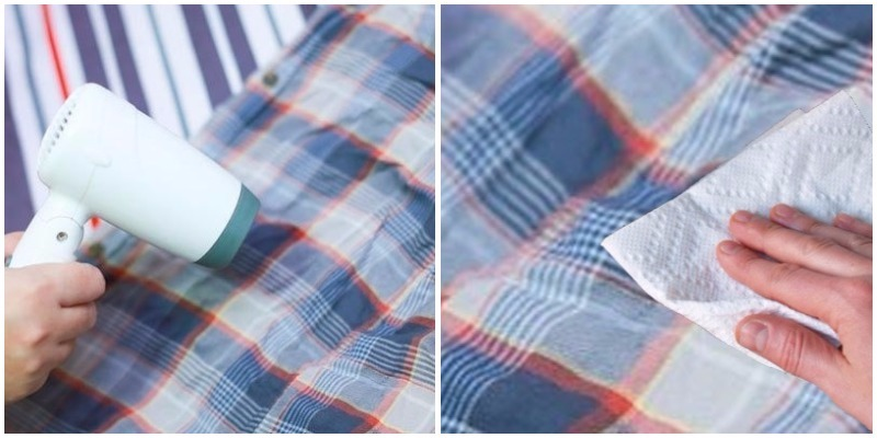 Cách làm sạch keo 502 dính trên quần áo