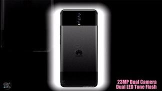 Mẫu Huawei P20 thiết kế cực đẹp mang phong cách Nokia 6300 cùng màn hình  viền siêu mỏng