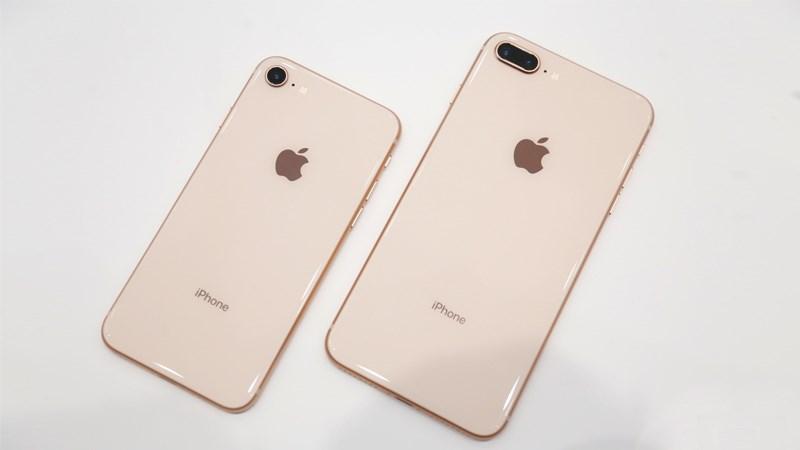 iPhone 8 Plus 64 GB - ស្រទាប់ខ្នងកោង 2.5D
