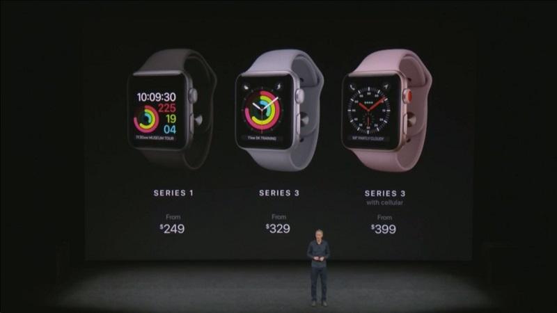 Apple Watch thế hệ 3 – cấu hình siêu khủng trong thiết kế nhỏ gọn