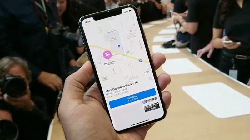 Màn hình điện thoại iPhone X
