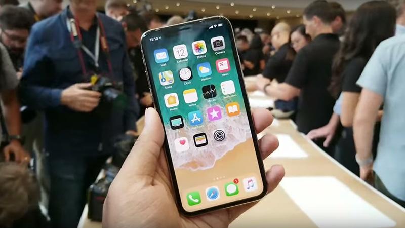 Thiết kế điện thoại iPhone X