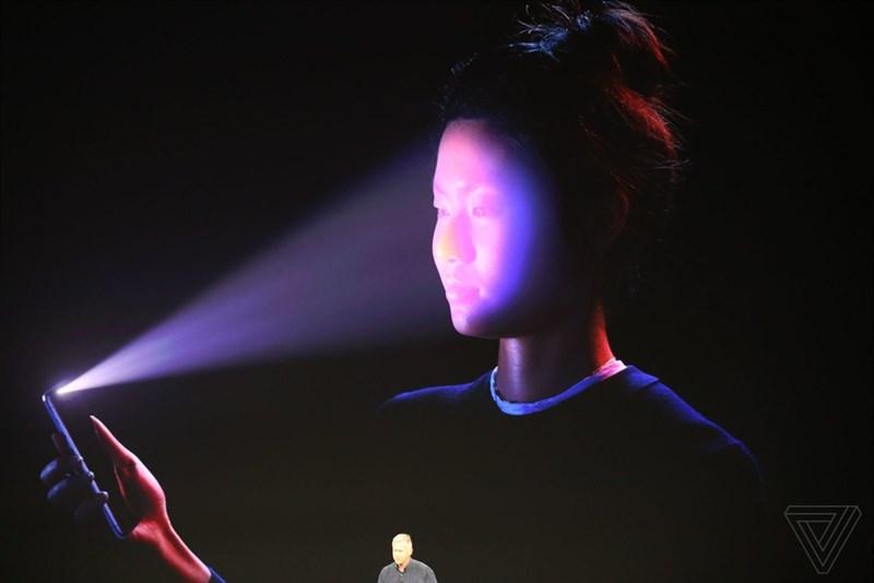 Face ID trên điện thoại iPhone X