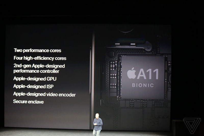 Chip Apple A11 trên điện thoại iPhone X