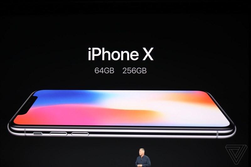 Các phiên bản của điện thoại iPhone X