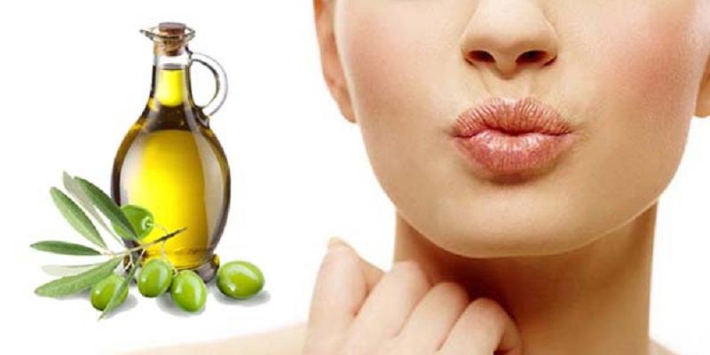 Công dụng dưỡng môi của dầu ô liu