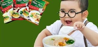 Có nên cho bé ăn cháo ăn liền?