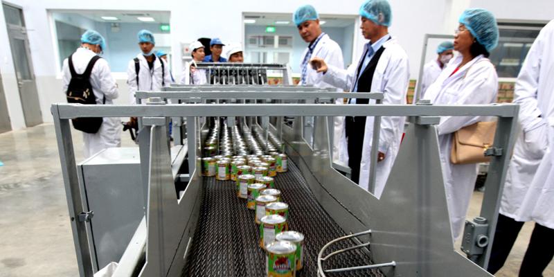 sản xuất sữa đặc