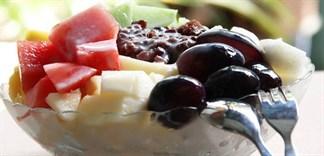 Cách làm patbingsu đậu đỏ