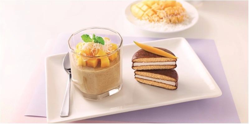 Món tráng miệng mát lạnh cùng bánh Chocopie