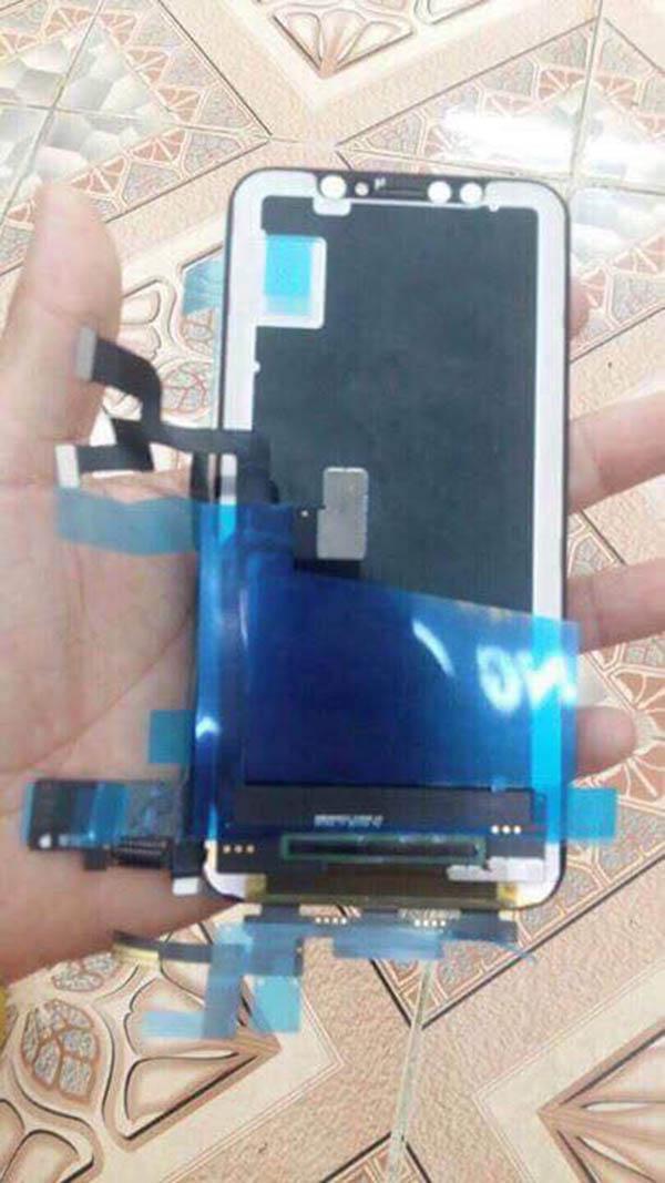Đã có linh kiện màn hình của iPhone X dù máy chưa lên kệ - 205299
