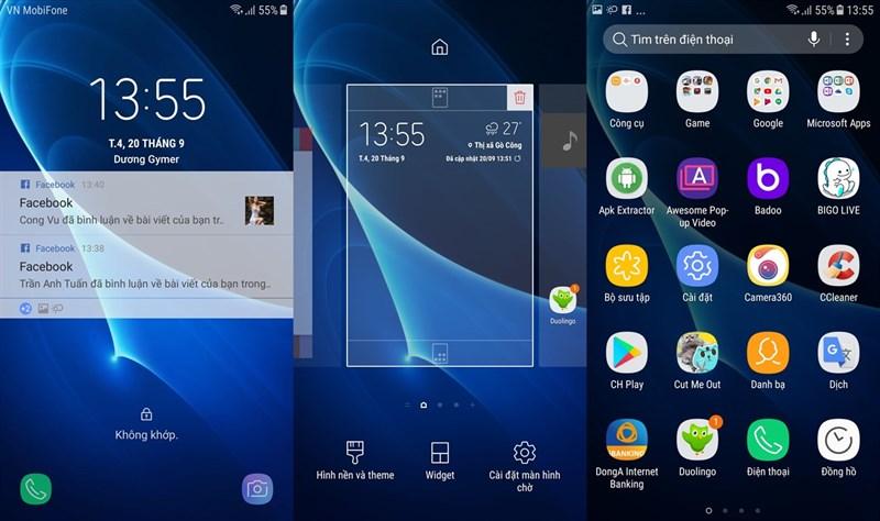 Galaxy J7 Prime Việt Nam chính thức được cập nhật Android 7