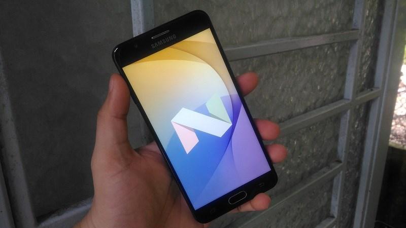 Galaxy J7 Prime tại Việt Nam chính thức được cập nhật Android 7.0
