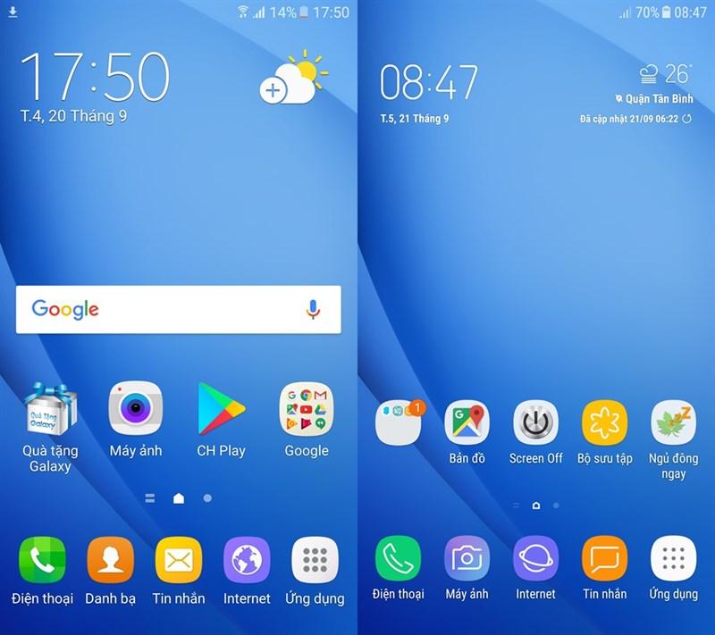 Trải nghiệm Android 7 0 trên Galaxy J7 Prime