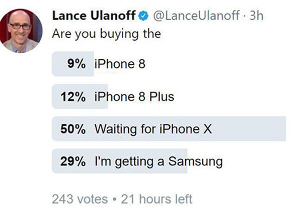 Bắt người dùng chờ iPhone X, bán iPhone 8 ra trước: Sai lầm của Apple? - 205844