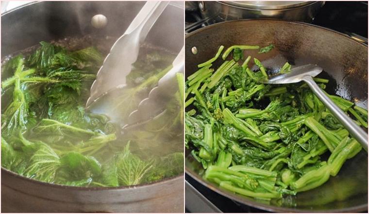 Luộc rau hay xào rau tốt hơn? 5 loại rau tuyệt đối không nên luộc mà bà nội trợ nên nhớ