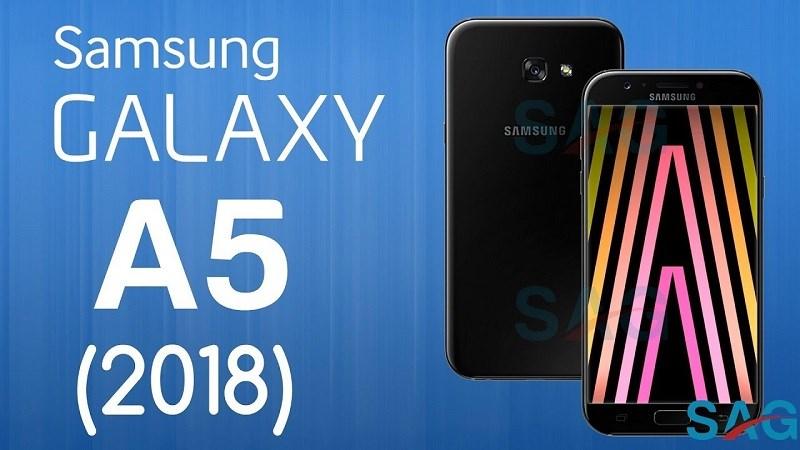 Galaxy A 2018 có màn hình vô cực, cảm biến vân tay dưới camera