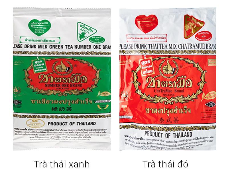Các loại trà thái