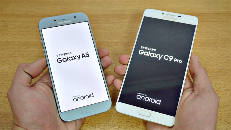 Mua Galaxy A5 2017, Galaxy C9 Pro được giảm giá, tặng thêm quà