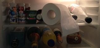 Đặt giấy cuộn vào tủ lạnh và điều kì diệu sẽ xảy ra