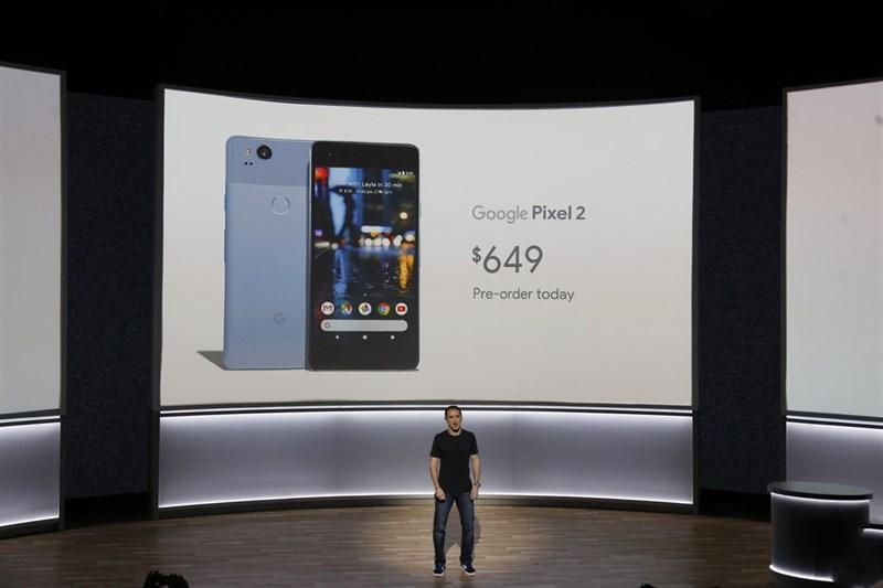 Giá bán của Pixel 2