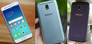 Top 5 smartphone bán chạy nhất tháng 9/2017 tại Điện máy XANH