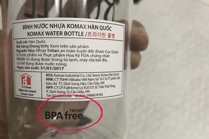 Bình đựng nước nhựa có an toàn hay không?-3