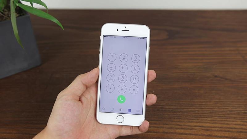 Sử dụng iPhone lock