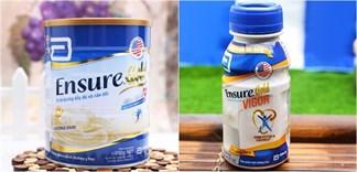 Nên mua sữa Ensure bột hay nước?