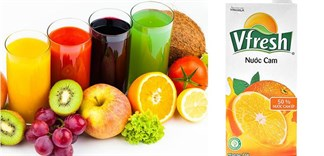 Nước ép trái cây đóng hộp và nước ép trái cây tươi nên chọn loại nào?