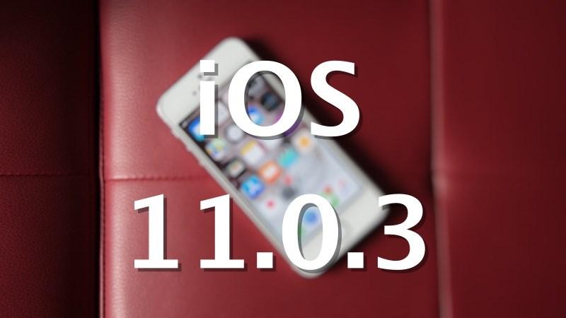 Cách cập nhật iOS 11.0.3 khắc phục những lỗi còn tồn đọng ở phiên bản trước - ảnh 1