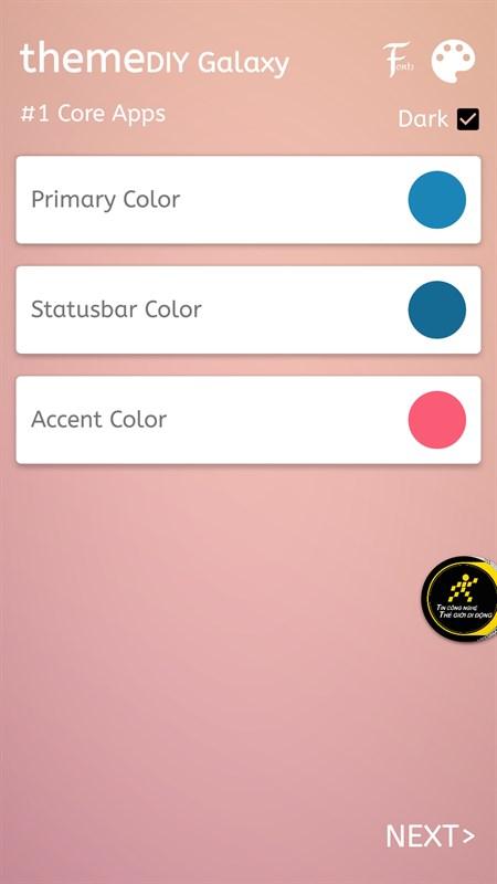 Mẹo tự thiết kế theme theo ý thích cho smartphone Samsung - ảnh 4