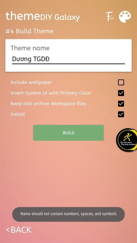 Mẹo tự thiết kế theme theo ý thích cho smartphone Samsung - ảnh 6