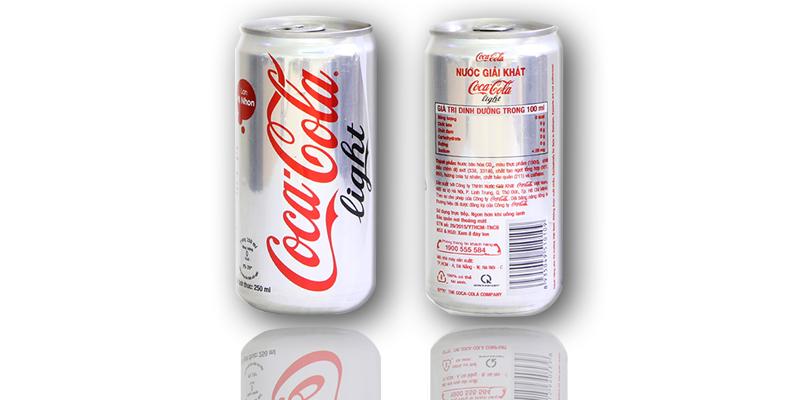 Khác biệt giữa Coca Cola Light và Coca Cola Zero