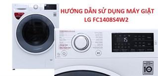 Hướng dẫn sử dụng máy giặt LG FC1408S4W2