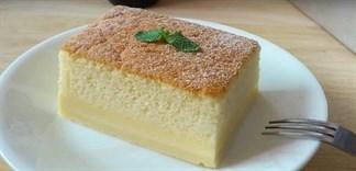 Hướng dẫn làm bánh bông lan ma thuật tự tách lớp