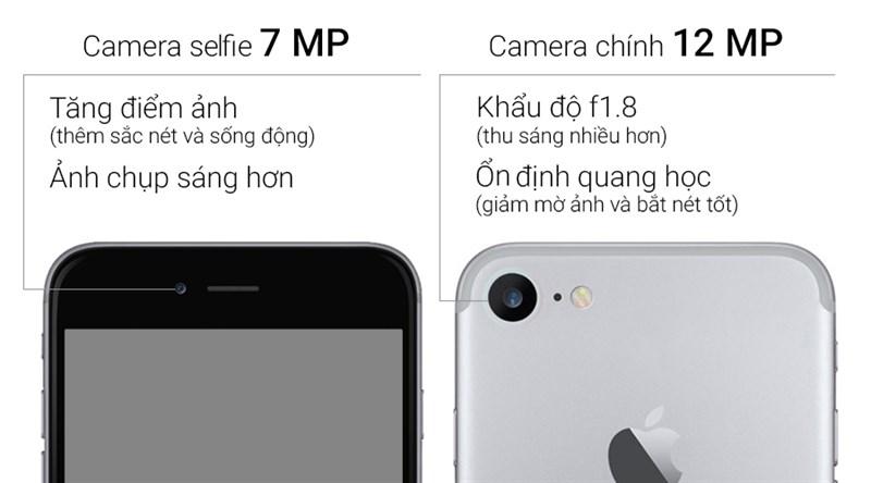 iPhone 7 chỉ có camera đơn