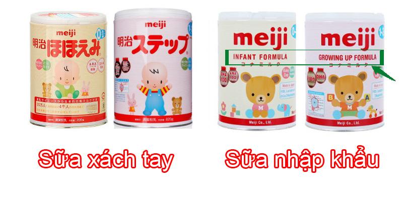 Sữa nhập khẩu, sữa xách tay là gì?