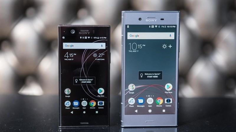 Sony Xperia XZ1 và XZ1 Compact nhận được bản cập nhật đầu tiên