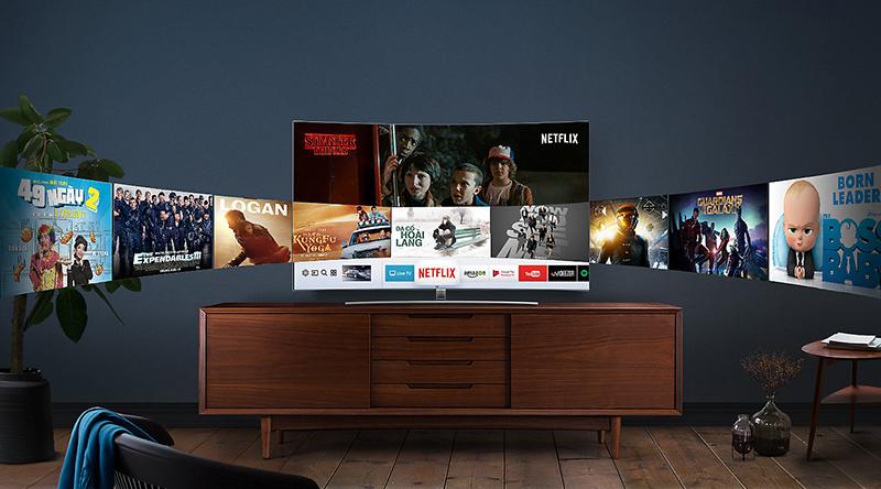 Smart tivi Samsung hệ điều hành Tizen
