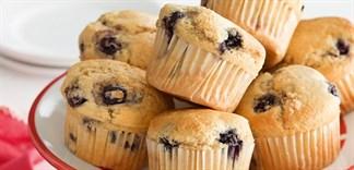 Cách làm bánh muffin bằng bột bánh pha sẵn Mikko