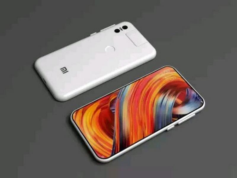 Concept: Xiaomi Mi MIX 3 viền cạnh siêu mỏng, camera kép ấn tượng
