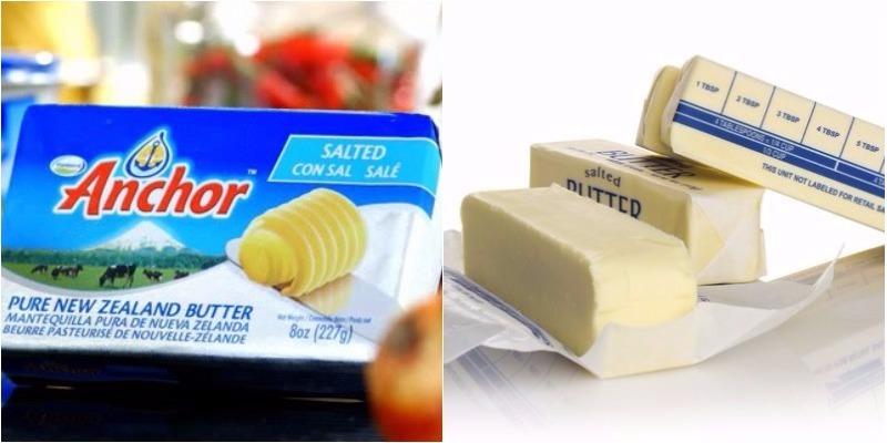 So sánh bơ động vật và bơ thực vật