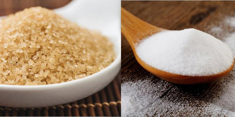 Nên chọn đường vàng hay đường trắng cho nấu ăn?