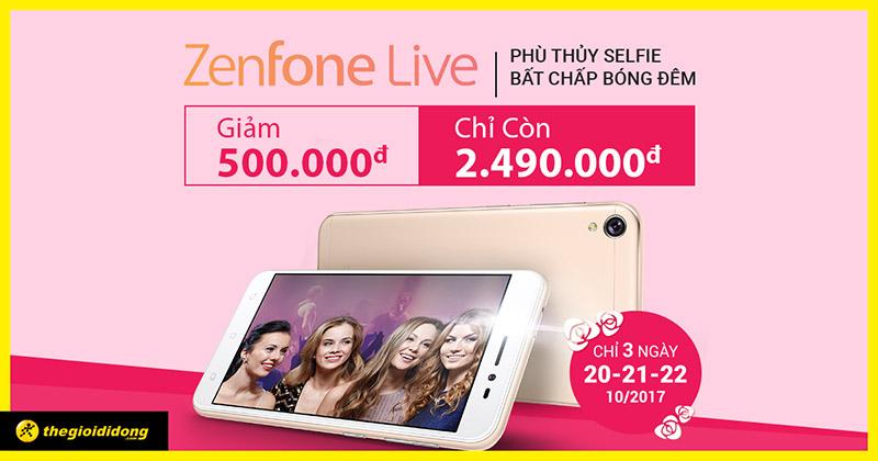 Phù thủy selfie Zenfone Live của Kaity Nguyễn đang giảm sốc 500K
