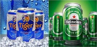 Nên uống bia Tiger hay Heineken?