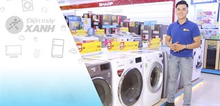 Top 4 máy giặt sấy giá rẻ, phù hợp cho mùa mưa bão